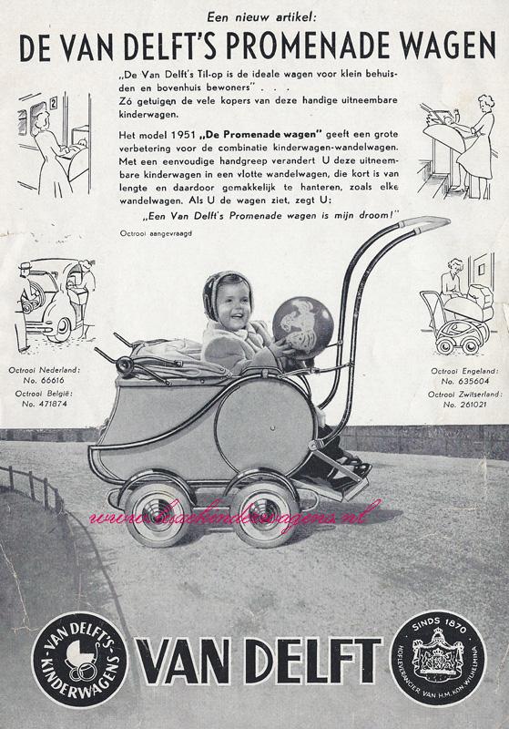 Til-op/Promenade wagen, 1951