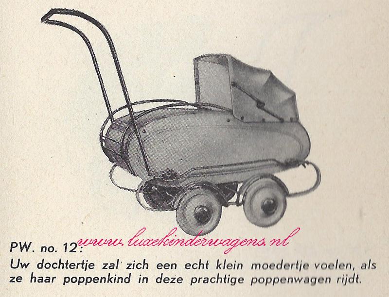 Poppenwagen No. 12