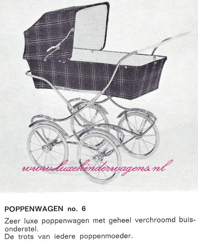 Poppenwagen No. 6