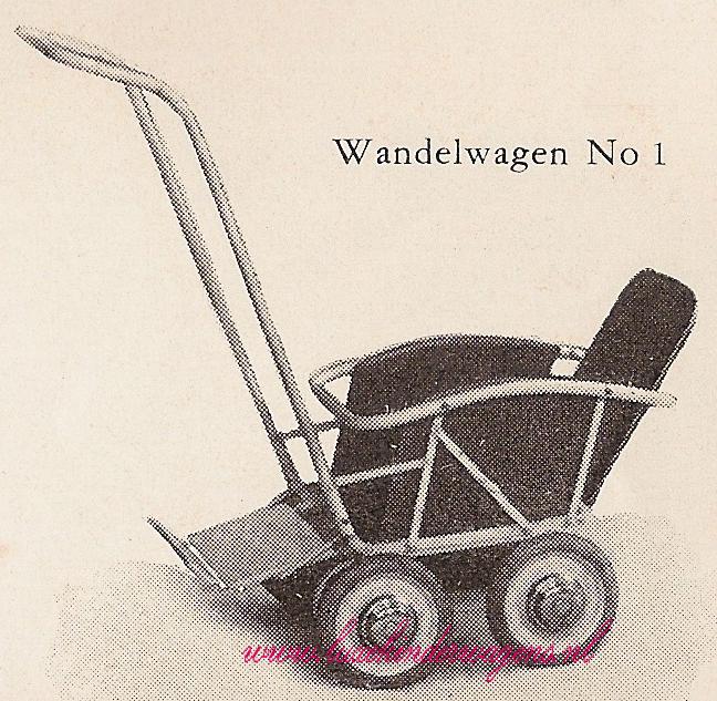 Wandelwagen No. 1, 1953