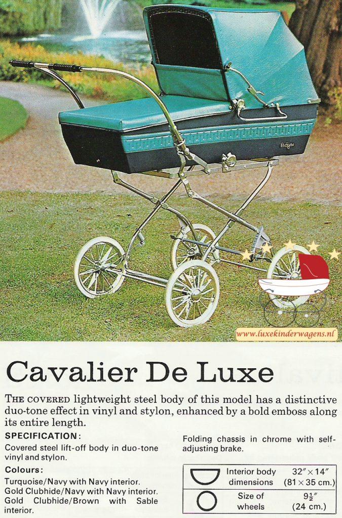 Pedigree Cavalier de Luxe 1972