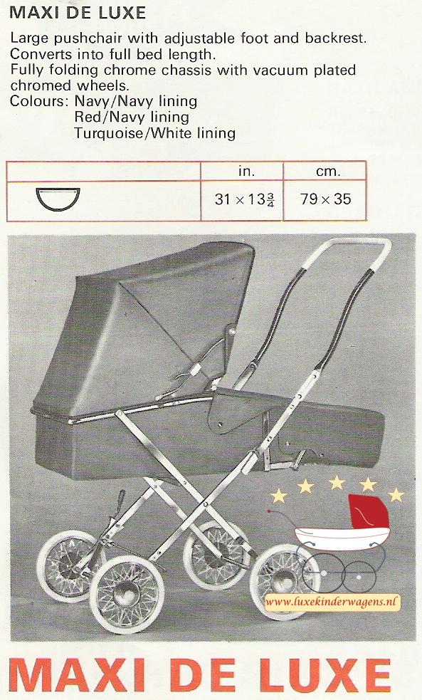 Pedigree Maxi de Luxe 1970