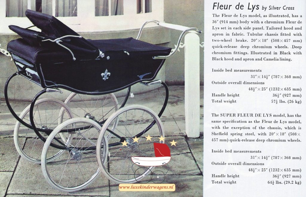 Silver Cross Fleur de Lys 1970-1971