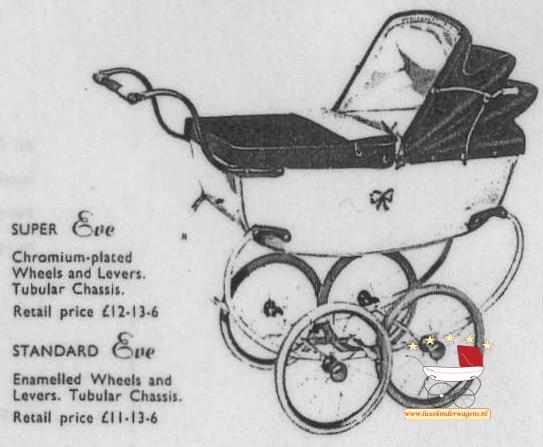 Silver Cross Poppenwagen Eve 1954