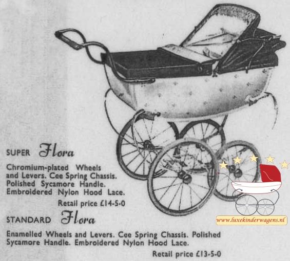 Silver Cross Poppenwagen Flora 1954