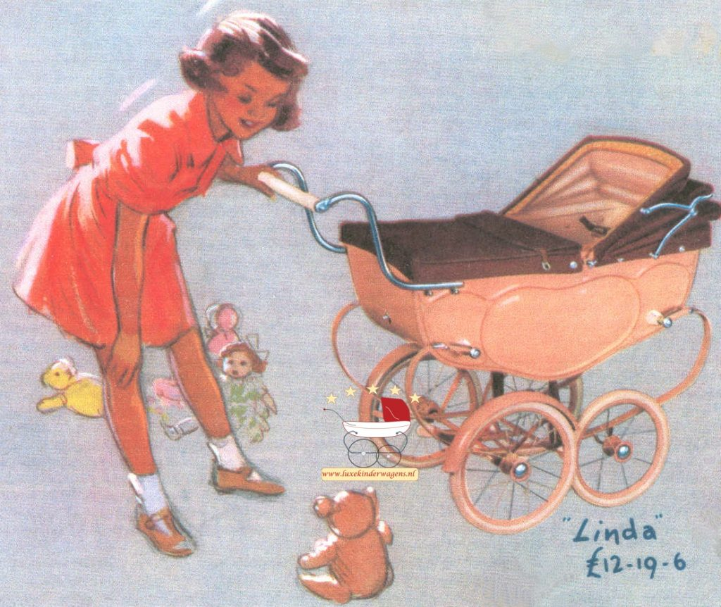 Silver Cross Poppenwagen Linda 1950