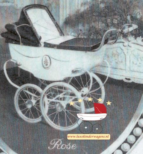 Silver Cross Poppenwagen Rose 1953