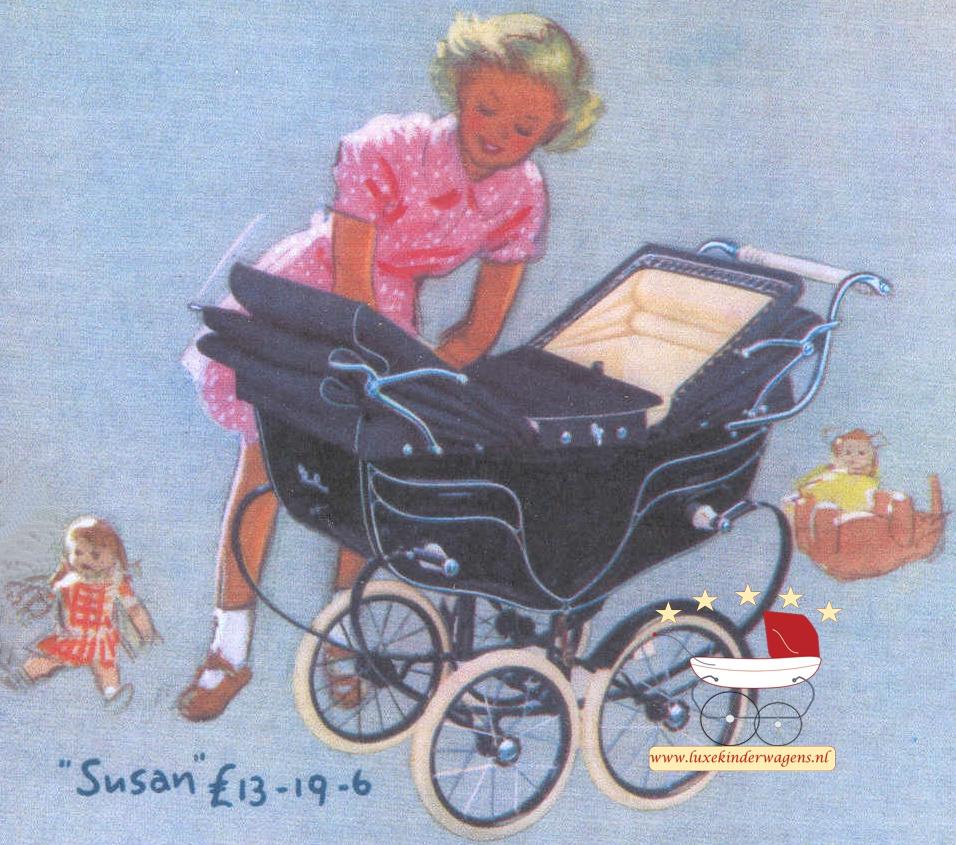 Silver Cross Poppenwagen Susan 1950