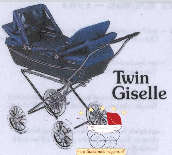 Silver Cross Poppenwagen Twin Giselle 1981-1984