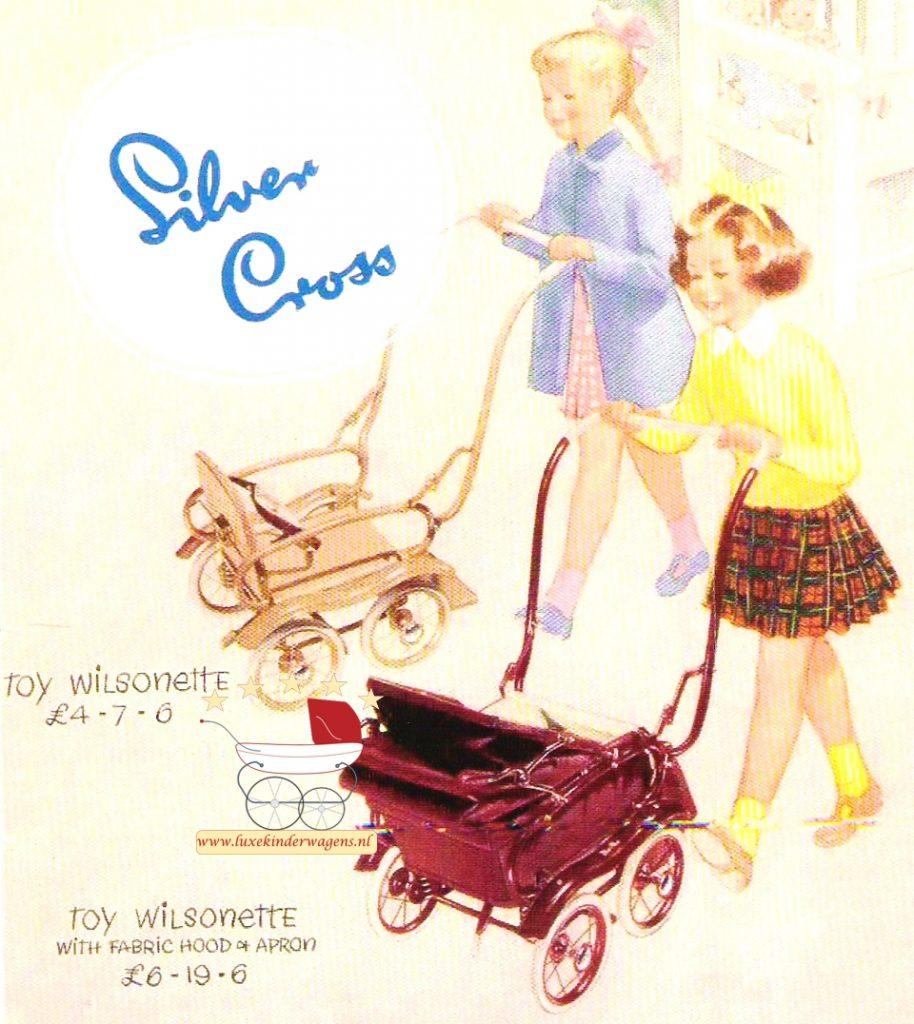 Silver Cross Poppenwagen Wilsonette 1949-1951