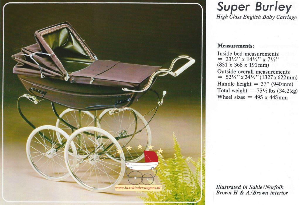 Silver Cross Super Burley 1979-1983