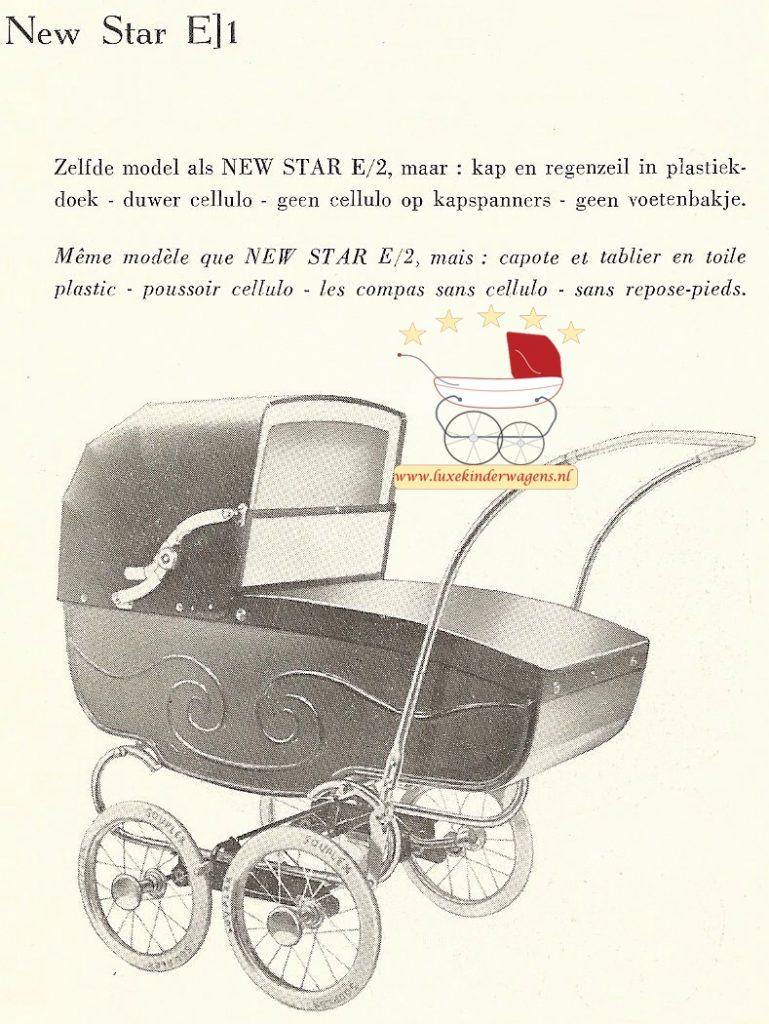 New Star E1, 1957