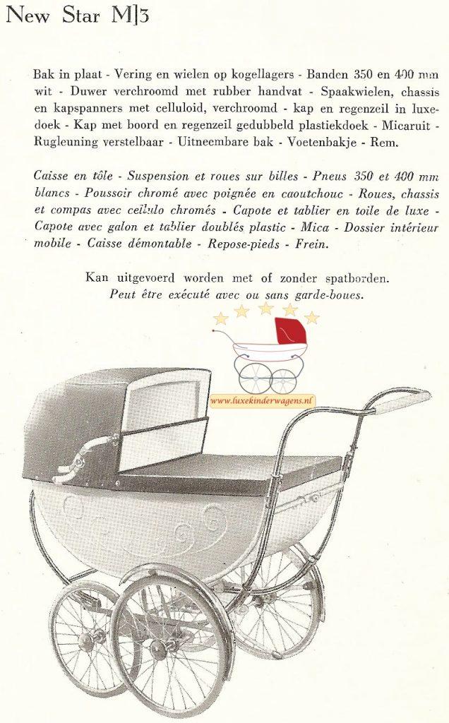 New Star M3, 1957